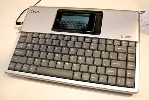 iPhone-Tastatur für dicke Finger