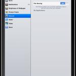 Filesharing auf dem iPad
