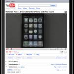 Youtube auf dem iPad