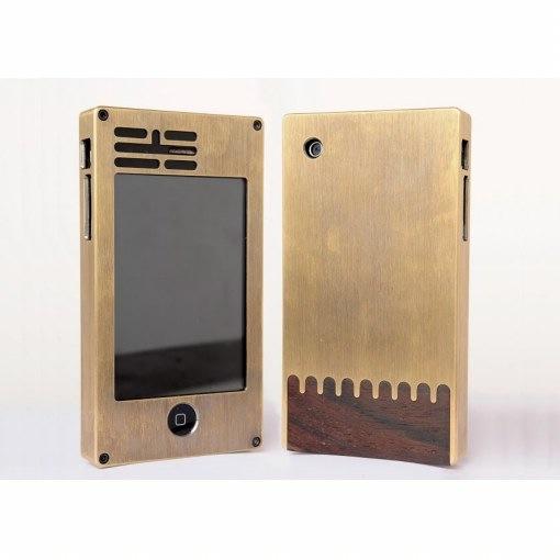 Exovault: iPhone-Case aus Metall und Holz