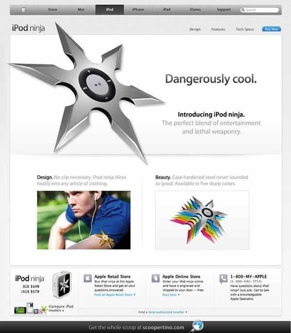 Gadget der Woche: Ninja iPod