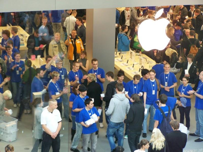 Eröffnung des Apple Stores in Oberhausen