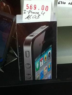 iPhone 4 für 569 Euro