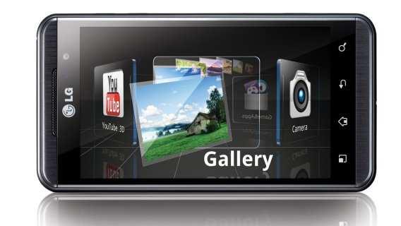 Smartphone LG P920 Optimus 3D von LG