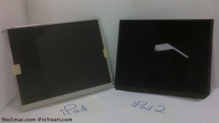 Das neue iPad 2 Display?