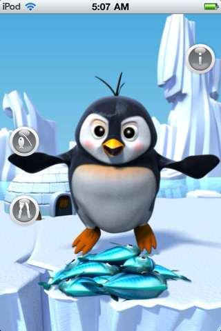 Sinnlose App: Der sprechende Pinguin aktuell kostenlos für iPhone und iPod Touch