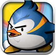 Brandheiße Spiele-App: Air Penguin
