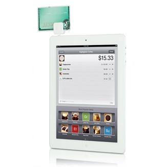 """Kredikartenlesegerät """"Square Reader"""" für das iPhone und iPad"""