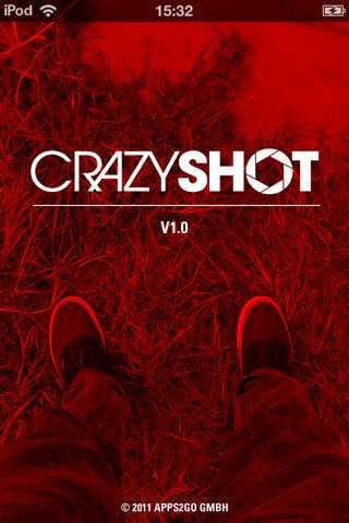 Neue Foto-App: Crazy Shot schießt Zufallsbilder