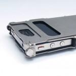 Aluminium-Case für das iPhone 4 im Maschinen-Look