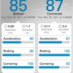 Driver Feedback: iPhone-App analysiert Fahrverhalten im Auto