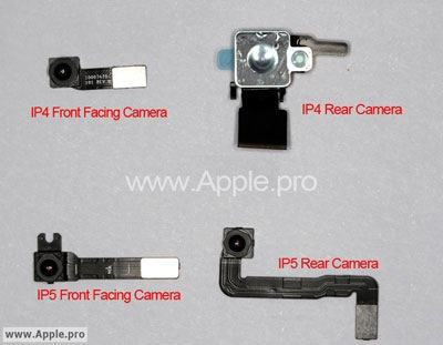 Kamerateile des neuen iPhone 4S bzw. 5?