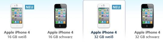 O2 erhöht Preise für iPhone 4