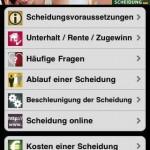 Die Scheidungs-App für das iPhone