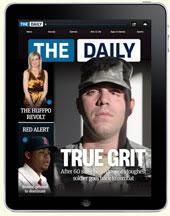 Hochwertige Magazine für das iPad: The Daily
