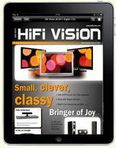 Hochwertige Magazine für das iPad: Hifi Vision