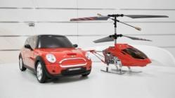 Hubschrauber und Mini Cooper mit dem iPhone steuern