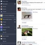 Facebook-App für das iPad: Timeline