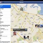 Facebook-App für das iPad: Aufenthaltsort der Freunde