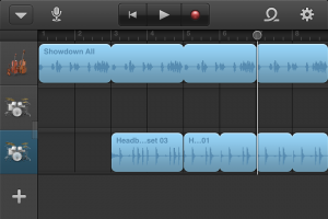 Garage Band App Screenshot