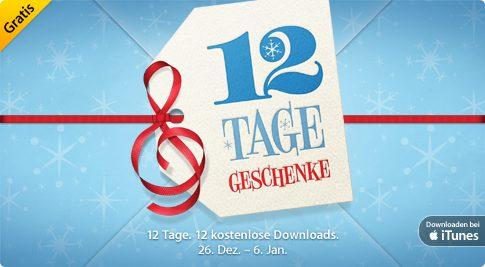 Weihnachten bei Apple: 12 Tage, 12 Geschenke bei iTunes