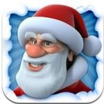 Sprechender Santa Weihnachtsmann für das iPhone