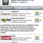 Preise vergleichen mit der App von Preis.de