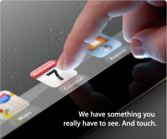 Die Keynote zum iPad 3 findet am 7. März statt