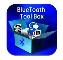 bluetooth Blue Tool Box