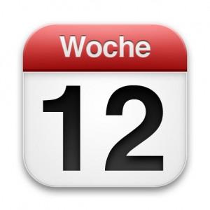 Wochenrückblick Kalenderwoche 12