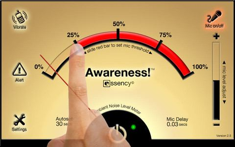 Awareness-Kopfhörer-App