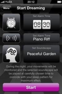 DreamOn: Träume mit App verschönern: Einstellungen