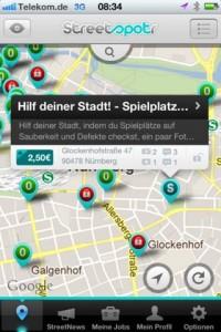 Streetspotr-App: Mit dem iPhone Geld verdienen