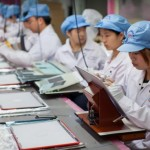 Foxconn iPhone-Fabrik in Zhengzhou