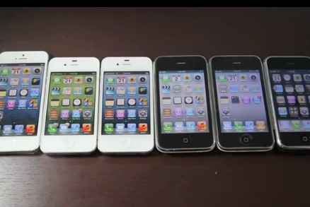 Video: Alle iPhones im Vergleich: iPhone 2G, iPhone 3G, iPhone 3 GS, iPhone 4, iPhone 4S und iPhone 5
