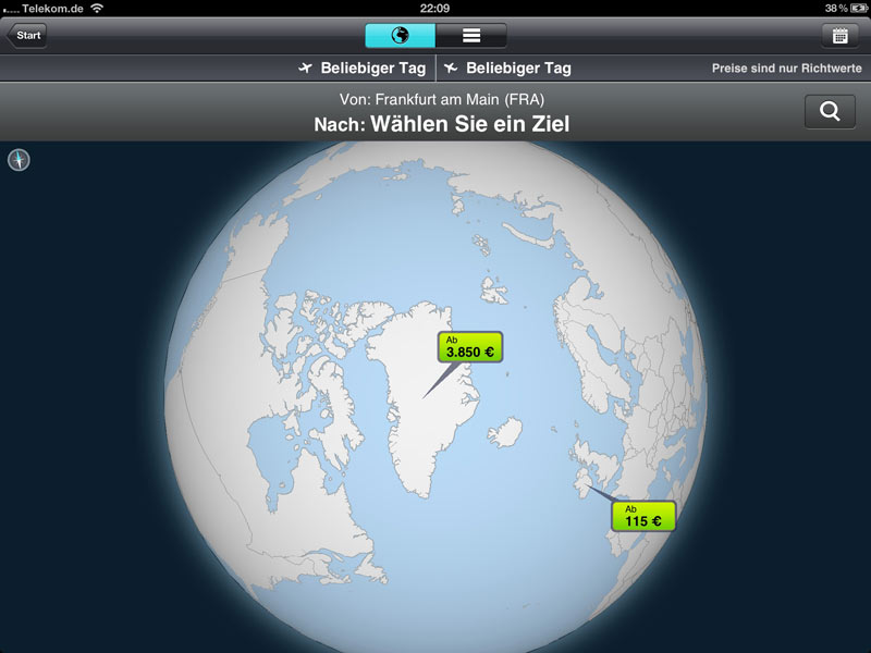 Flug-App der Woche: Skyscanner