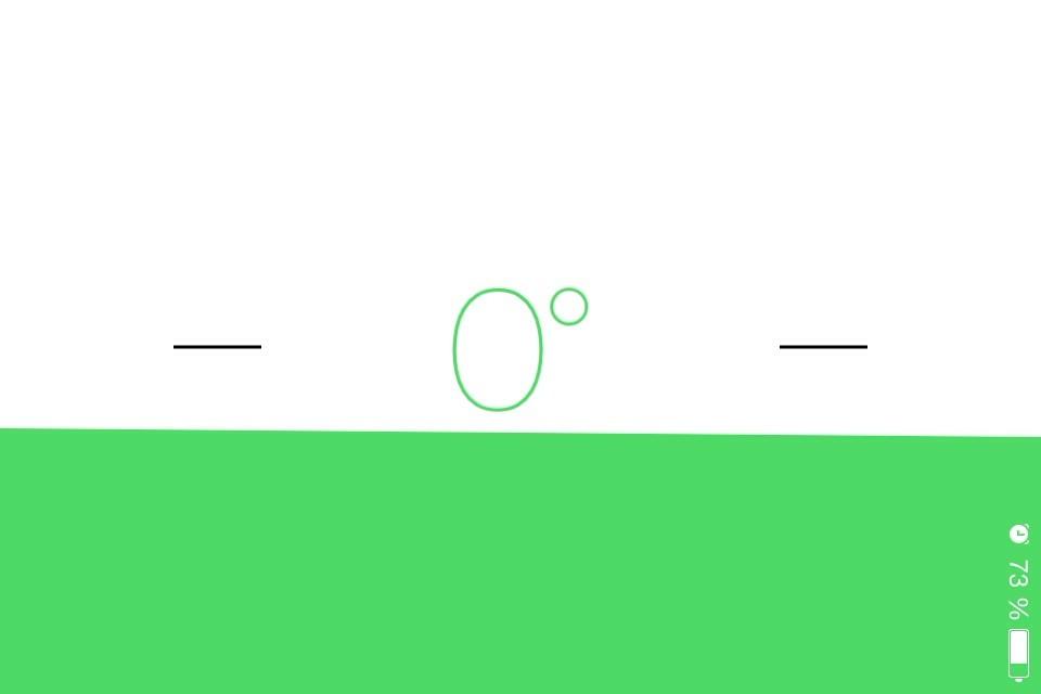 Versteckte Funktion in iOS 7: Wasserwaage