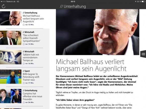 Katastrophen-Update: aus LiveMag wird Zelect